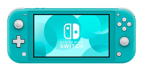 Nintendo Switch Lite Turquoise spēļu konsole
