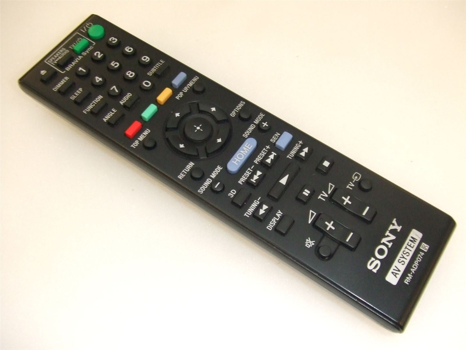 Sony Remote Commander (RM-ADP074) pults