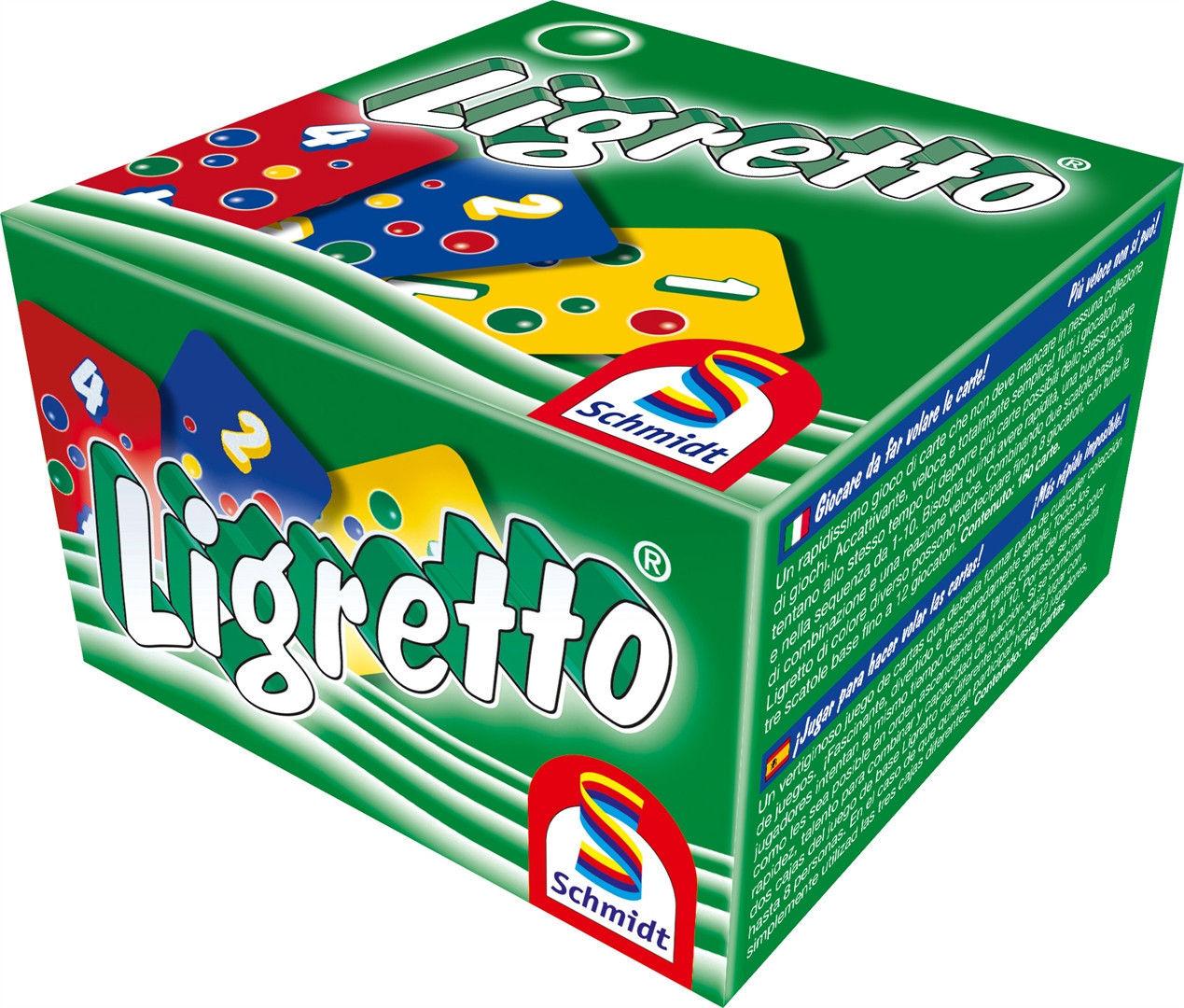 Brain Games Ligretto zaļais, green Baltic galda spēle