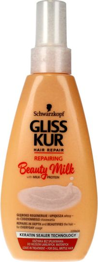 Schwarzkopf Gliss Kur Beauty Milk Conditioner-spray for dry and tired hair Repairing 150ml