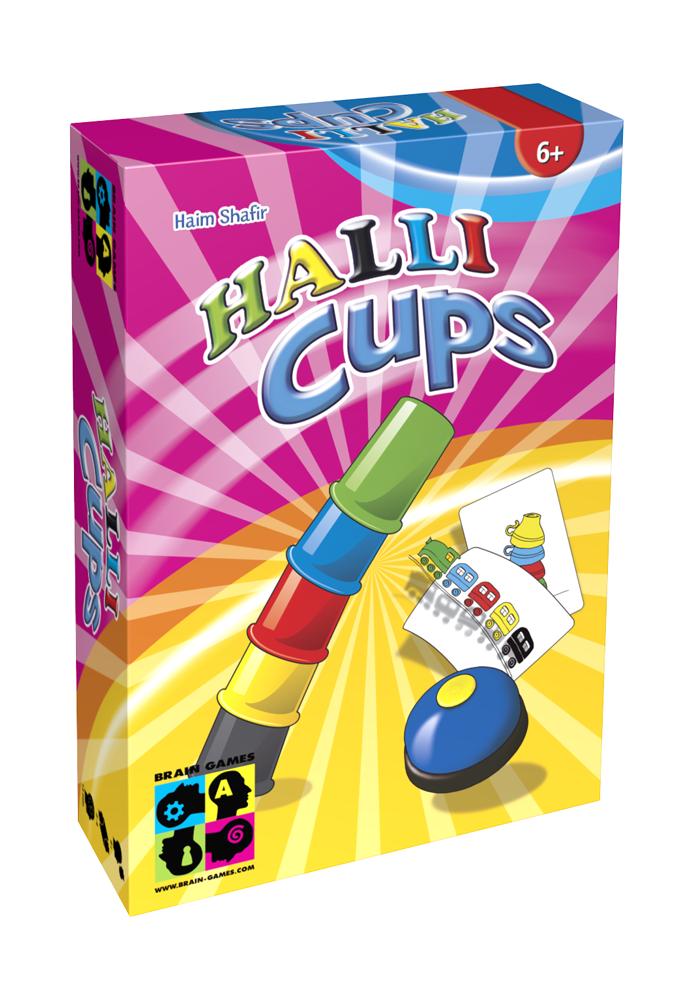 Brain Games Halli Cups galda spēle