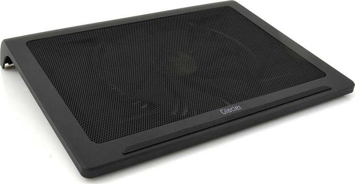 SilentiumPC Glacier NC4 00 Black portatīvā datora dzesētājs, paliknis