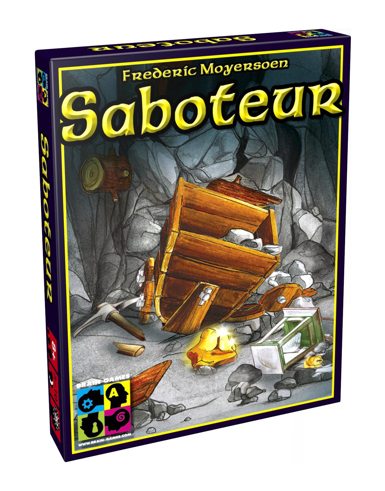 Brain Games Saboteur galda spēle