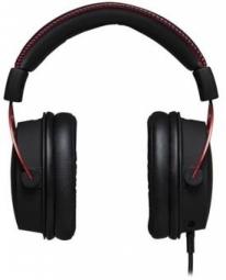Kingston HyperX Cloud Alpha, Pro Gaming Headset, 3.5mm plug (4 pole), microphone, color BLACK/RED austiņas