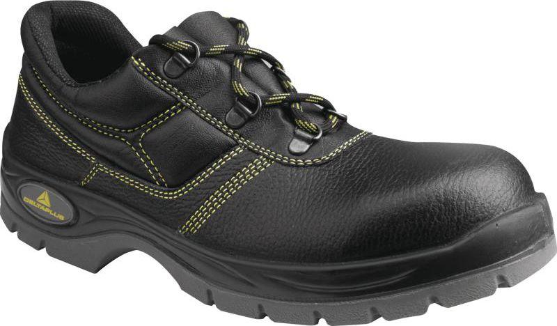 DELTA PLUS Leather low shoes double layer sole 43 (JET2SPNO43) darba apavi