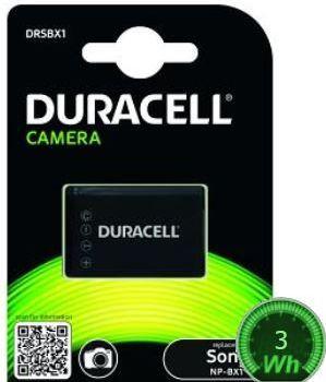 Duracell Premium Analogs Sony NP-BX1 Akumul tors DSC-H400 HX60 RX1 WX300 3.7V 950mAh Baterija
