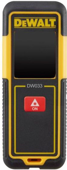 DeWalt DW033 Laser Distance Meter 30M
