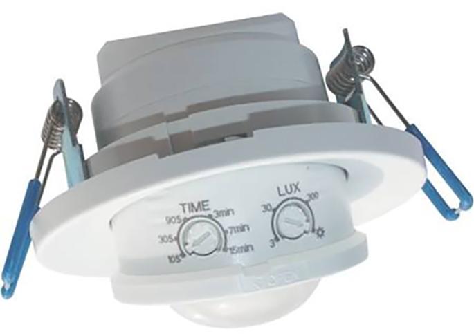 Bemko kustības sensors 800W 360 grādi Balts p/t