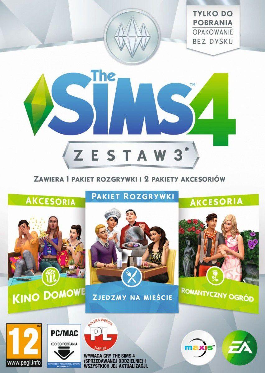 The Sims 4 Zestaw 3 spēle