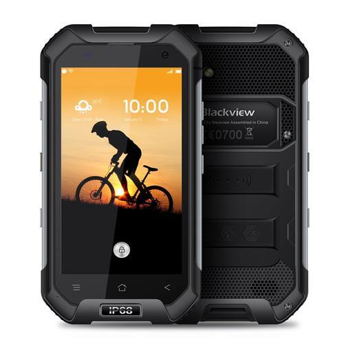 Blackview BV6000 3/32GB Black Mobilais Telefons