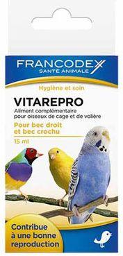 FRANCODEX Witaminy wspomagajace plodnosc i rozmnazanie u ptakow 15 ml 1106180
