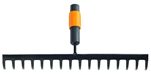 Fiskars Grabie 16-zebne QuikFit 205mm 135512 S/FS13-551-2 grābekļi