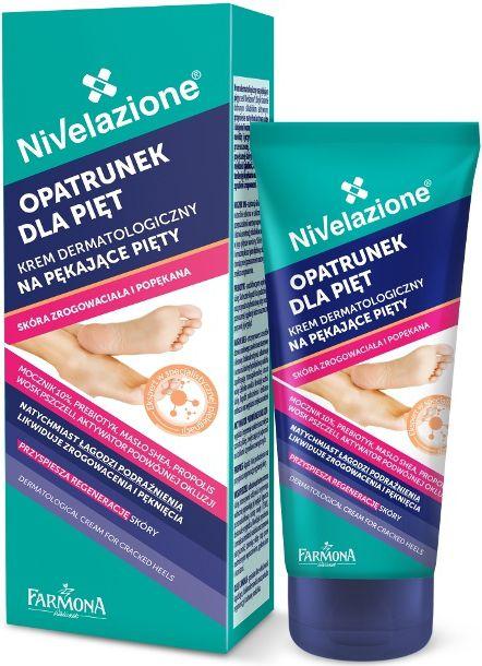 Farmona Nivelazione Opatrunek dla piet Krem dermatologiczny na pekajace piety 75ml BE2402 Roku, pēdu kopšana