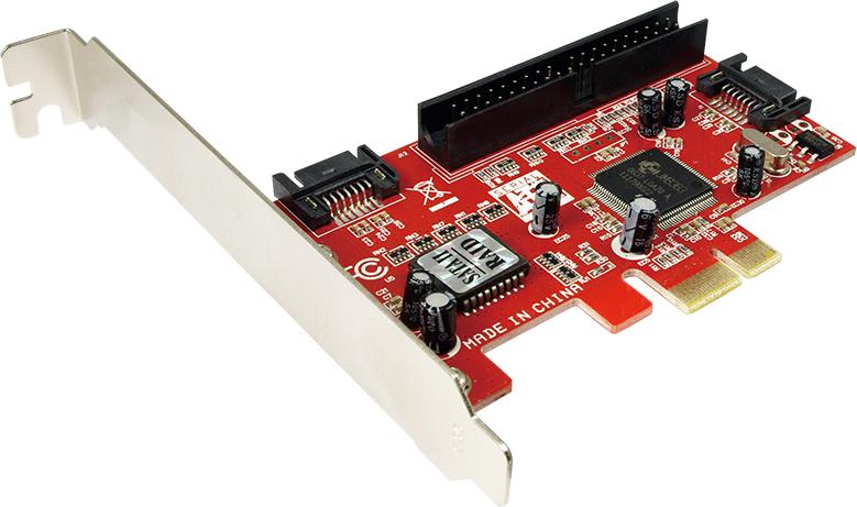 LogiLink PCI Express Karte 2x int. SATA + 1x IDE karte
