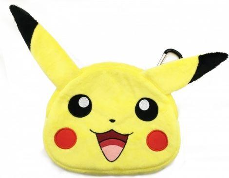 HORI  Etui Pikachu Plush Pouch (3DS-496U) 3DS-496U spēļu aksesuārs