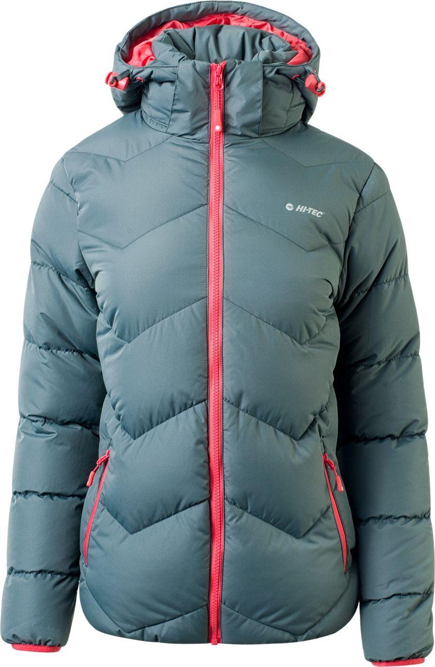 Hi-tec Lady Safi Iron Gate / Hot Coral women's jacket. M