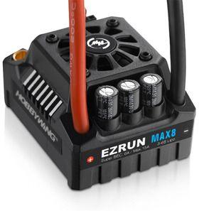 Hobbywing Regulator EzRun MAX8 150A V3 T-plug with programming card (HW30103200)