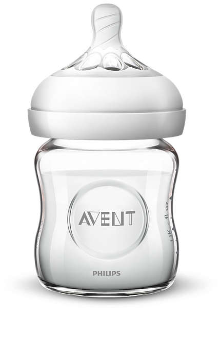Philips Avent Barošanas pudeļu silikona knupīši Natural 0M+, (2 gab) SCF041/27 bērnu barošanas pudelīte