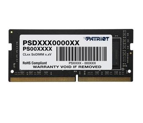 PATRIOT DDR4 SL 4GB 2666MHz SODIMM operatīvā atmiņa