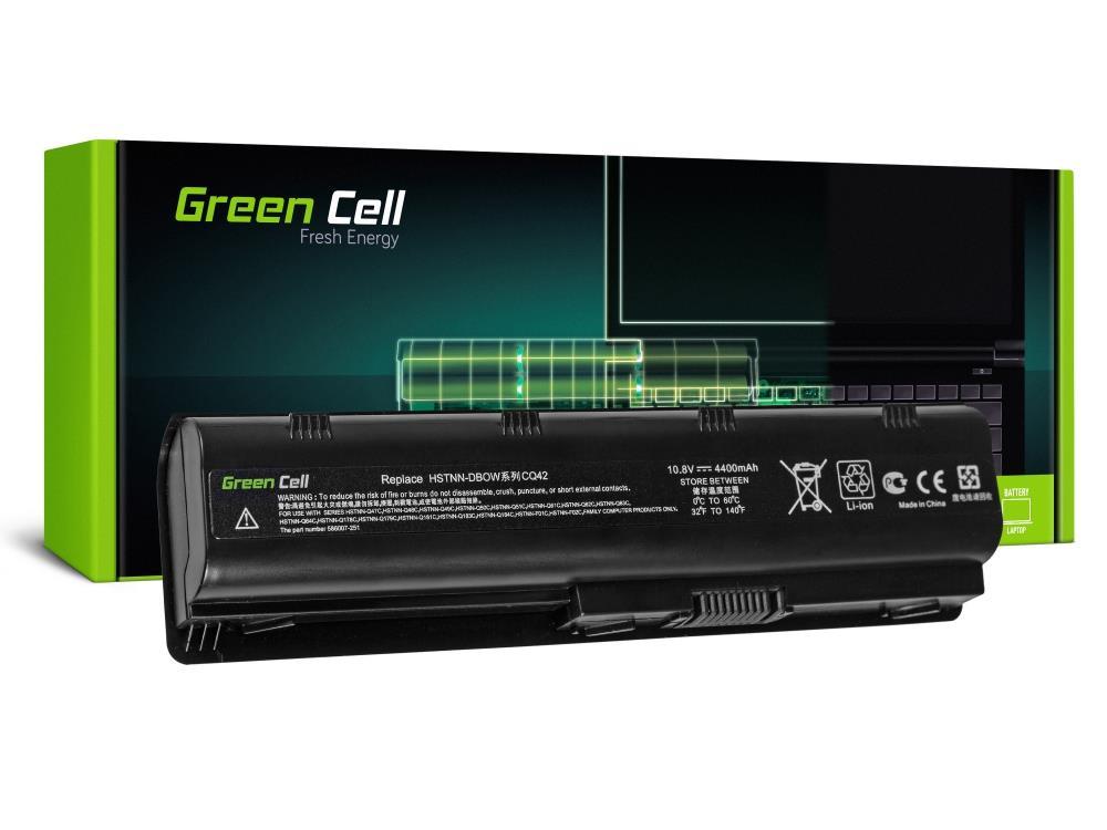 Green Cell MU06 for HP 635, 650, 655, G6, G7, G62, CQ42, CQ62, 10.8V, 6 cell (HP03) akumulators, baterija portatīvajiem datoriem