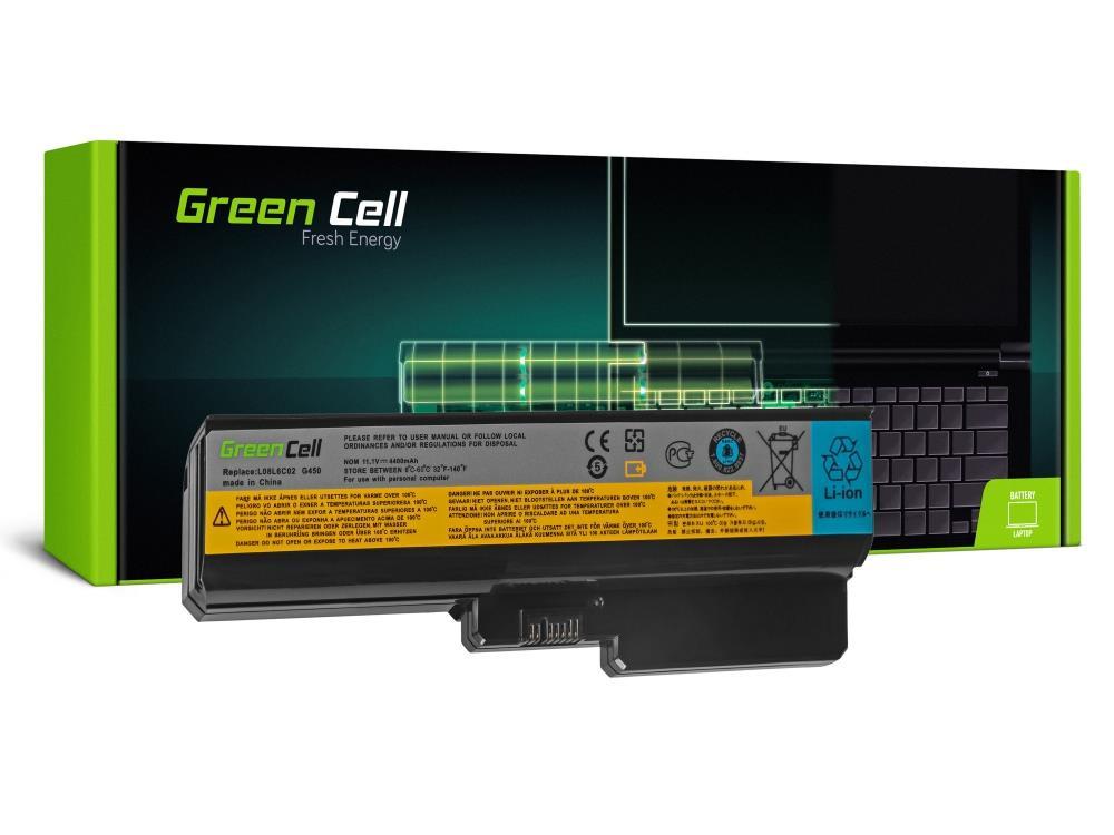 Green Cell L08L6Y02 L08S6Y02 Lenovo B550 G430 G450 G530 G550 G555 N500 (LE06) akumulators, baterija portatīvajiem datoriem