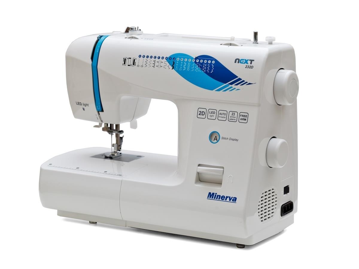 Minerva Next232D Automatic sewing machine Electric 232D Šujmašīnas