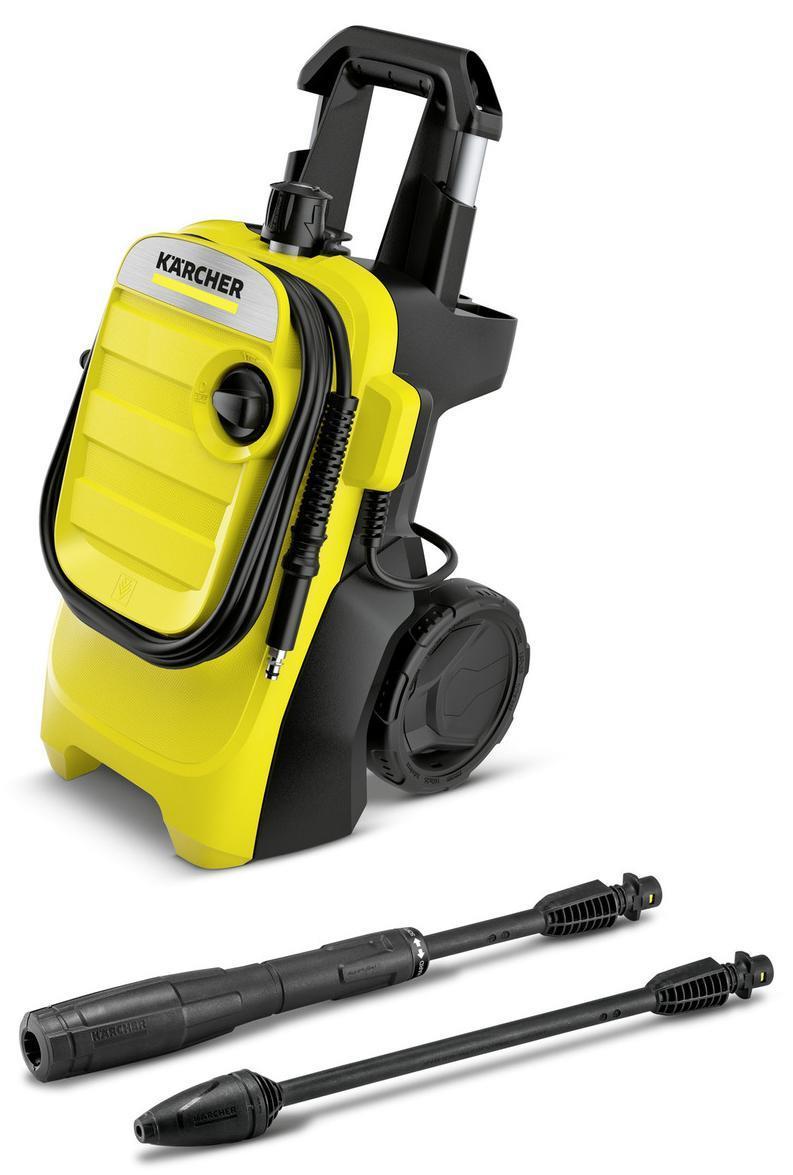 Karcher Pressure Washer K 4 Compact(yellow / black) tīrīšanas līdzeklis