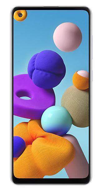 Samsung Galaxy A21s 3GB/32GB White Mobilais Telefons