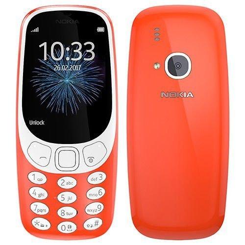 Nokia 3310 warm red(eng.valoda) Mobilais Telefons