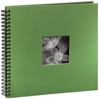 Hama  Fine Art  Spiral green 36x32 50 black Pages  94870