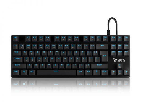 Savio Tempest RX Blue switch klaviatūra