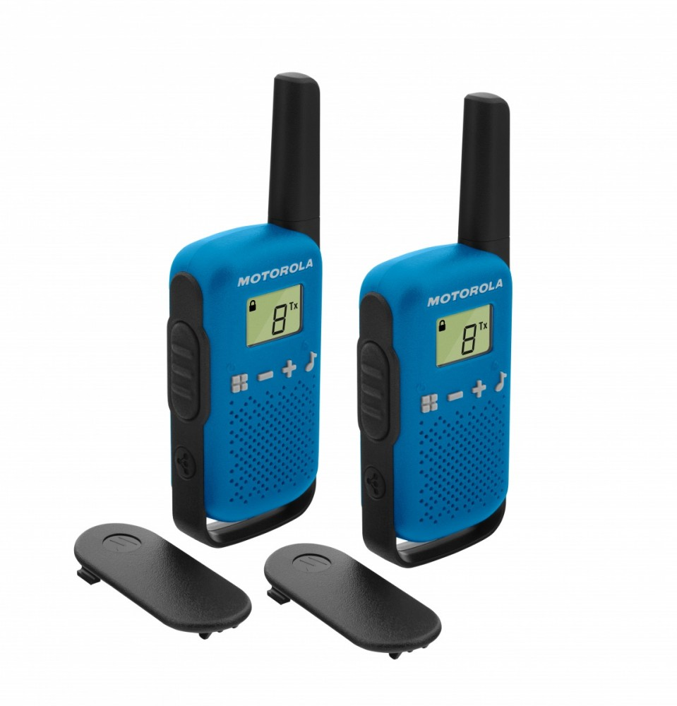 Motorola TALKABOUT T42 blue rācijas