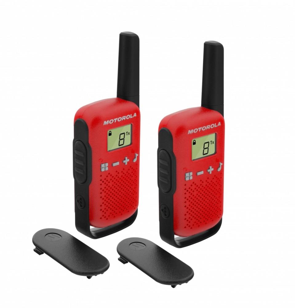 Motorola TALKABOUT T42 red rācijas