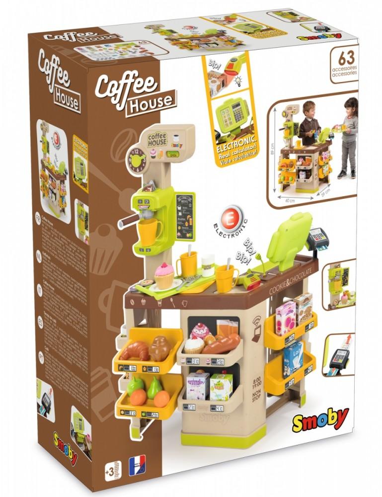 Smoby Coffee House 7600350214 Rotaļu mājas un slidkalniņi