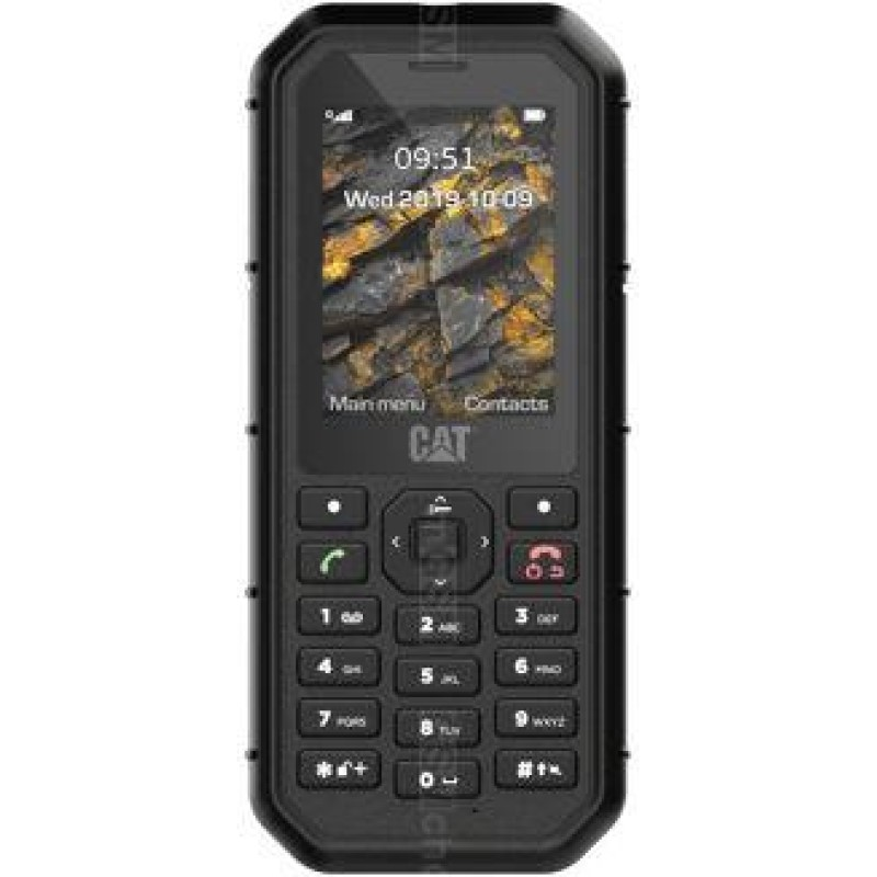 CAT B26 Dual SIM Black Mobilais Telefons