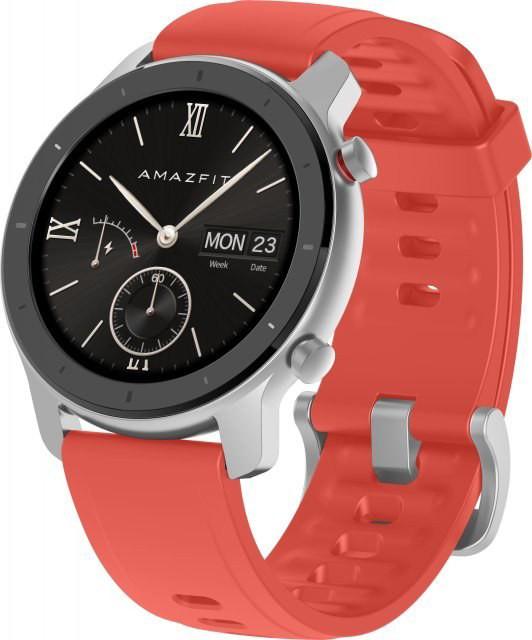 Xiaomi Amazfit GTR 42mm Coral Red Viedais pulkstenis, smartwatch