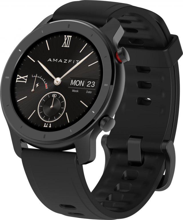 Xiaomi Amazfit GTR 42mm Starry Black Viedais pulkstenis, smartwatch