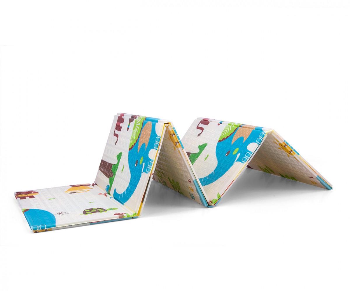 Milly Mally Folding foam mat Play Safari T1 Matrači un tūrisma paklāji