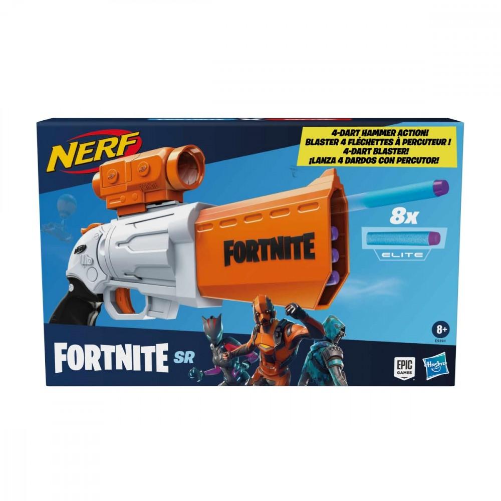Hasbro Launcher Nerf Fortnite SR E9391 Rotaļu ieroči