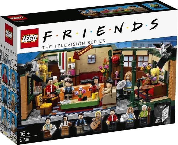 LEGO Bricks Ideas FRIENDS Central Perk LEGO konstruktors