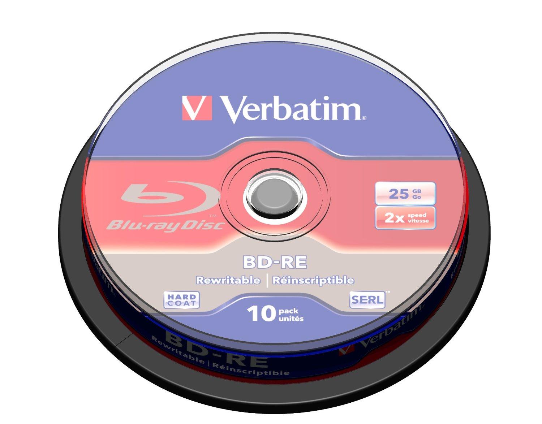 Verbatim BD-RE SL 25GB 2x 10 Pack Spindle BD-RE 25GB 10pcs matricas