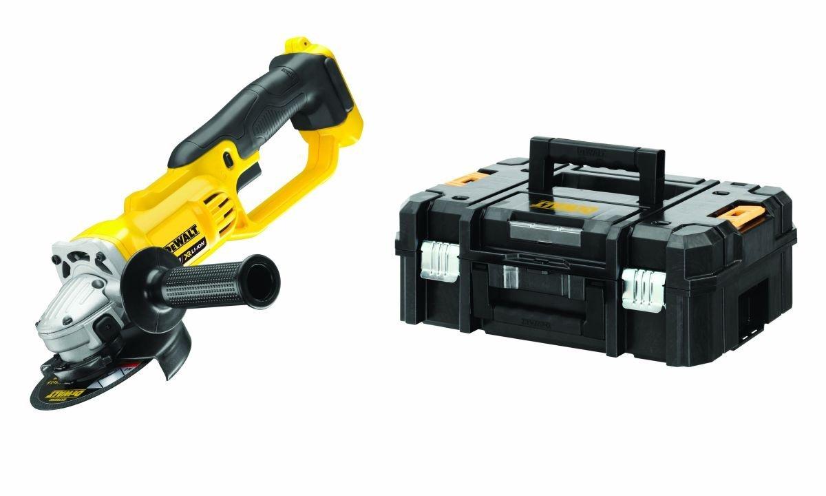 Dewalt Cordless Angle Grinder DCG412NT 18V yellow (bez akumulatora un lādētāja)