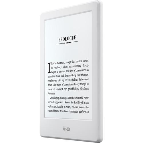 eReader Amazon Kindle 8 2016 4GB touch 6'', WiFi, [Sponsored] white Elektroniskais grāmatu lasītājs