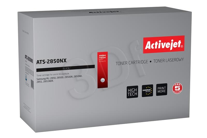 Toner Activejet ATS-2850NX (do drukarki Samsung, zamiennik ML-D2850B supreme 5000str. black)