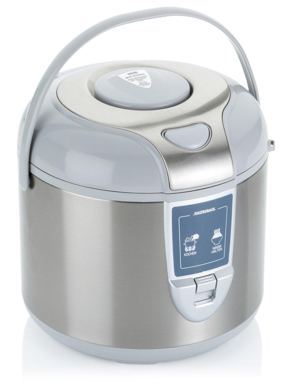 Gastroback Rice Cooker 42518 5L silver/white Multivārāmais katls