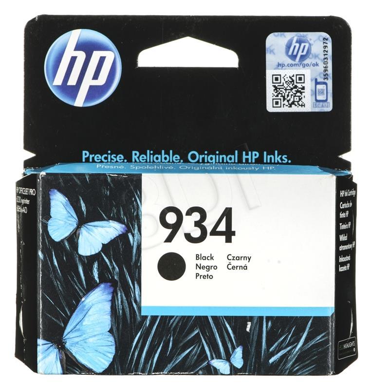 HP 934 Black Ink Cartridge kārtridžs