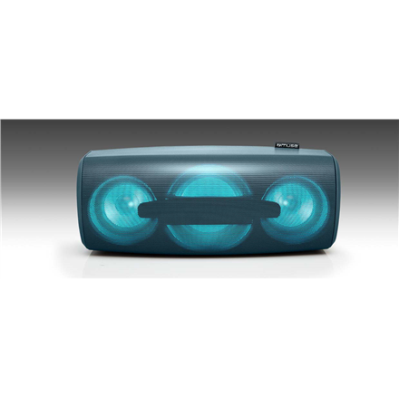 Muse Enceinte Bluetooth Portable Splash-Proof speaker M-930 DJN 80 W, Bluetooth, Portable, Wireless connection, Blue 3700460207137 datoru skaļruņi