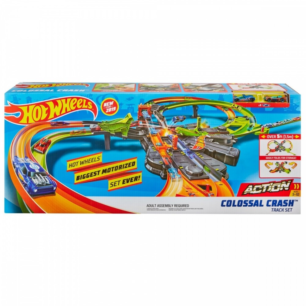 Mattel Hot Wheels Action Colossal Crash (GFH87)