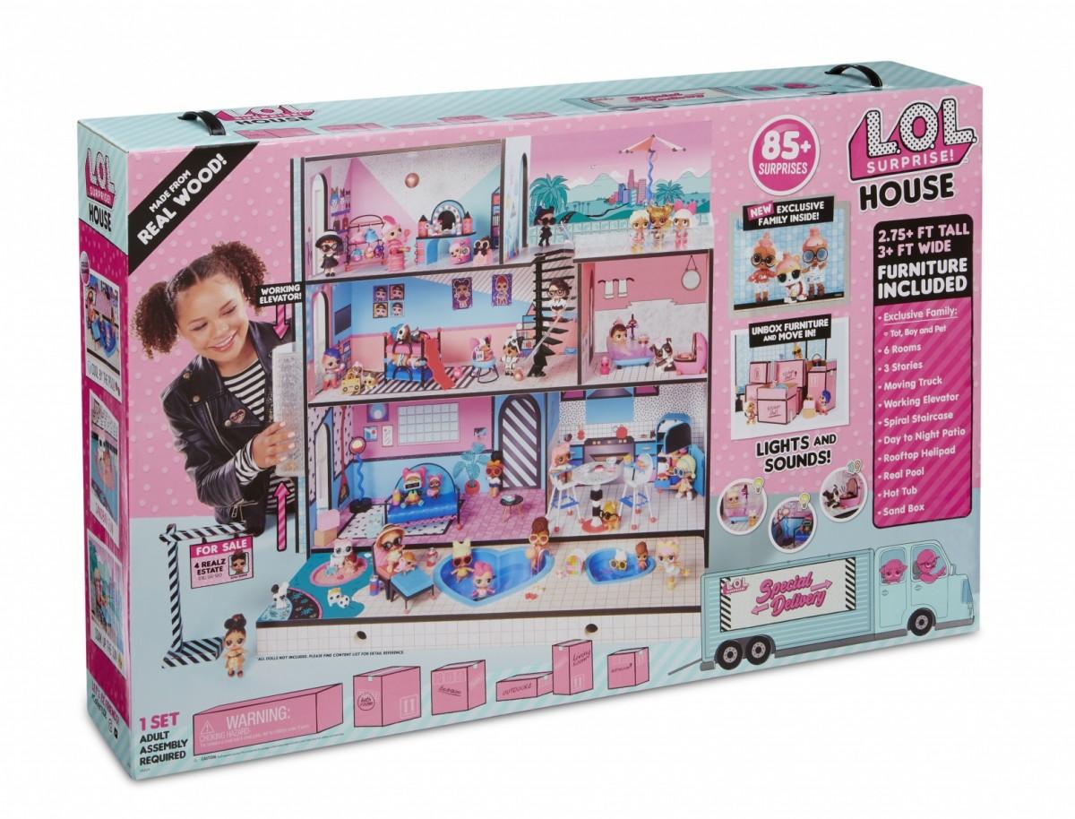 MGA L.O.L. Surprise House bērnu rotaļlieta