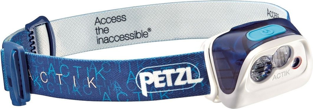 Petzl Headlamp Actik Hybrid Blue (E99AAC)